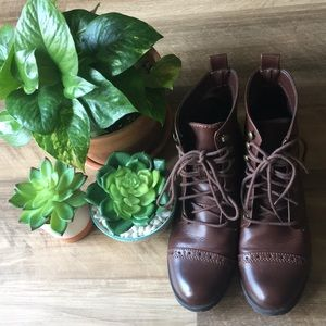H&M Boots Lace Up Size 6 Euro 36